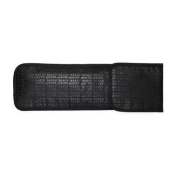 Beachwaver Co. Graffiti Black Storage Pouch