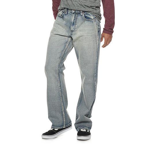 Men's Flypaper Lightwash Bootcut Jeans