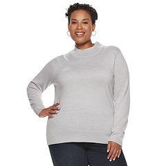 Plus Size Napa Valley Mockneck Sweater
