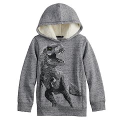 Boys 4-12 SONOMA Goods for Life™ Sherpa Hooded Pullover Sweatshirt