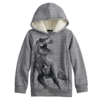 Boys 4-12 SONOMA Goods for Life? Sherpa Hooded Pullover Sweatshirt