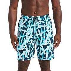 Men's Nike Glow Diverge 9-inch E-Board Swim Trunks