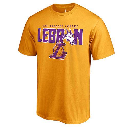 Men's Los Angeles Lakers LeBron James Player Tee