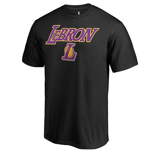 Men's Los Angeles Lakers Lebron James Tee