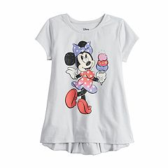 Disney's Minnie Mouse Girls 4-12 Ruffled-Back Short-Sleeve Tee by Jumping Beans®