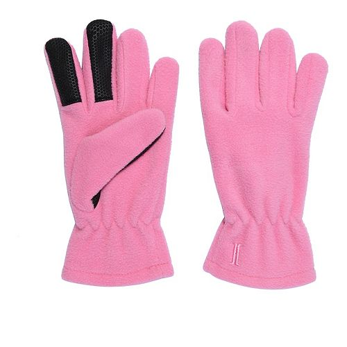 Girls 4-16 Igloos Microfleece Tech Touch Gloves