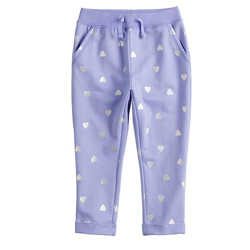 d39201496e1ac Toddler Girl Jumping Beans® French Terry Pants