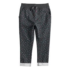 Toddler Girl Jumping Beans® French Terry Pants