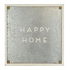 Belle Maison 'Happy Home' Wall Decor