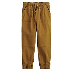 Boys 4-12 Jumping Beans® Slim Fit Twill Jogger Pants