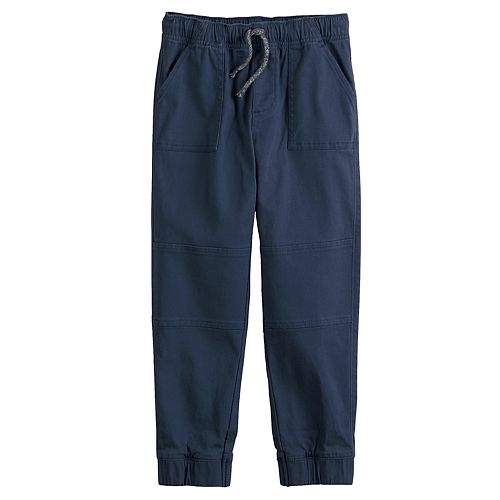 Boys 4-12 Jumping Beans® Slim Fit Twill Jogger Pants