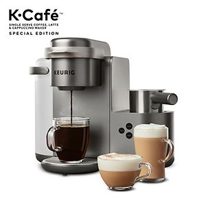 Keurig® K-Cafe® Single-Serve K-Cup Pod® Coffee, Latte & Cappuccino Maker