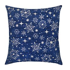 St. Nicholas Square® Snowflake Throw Pillow