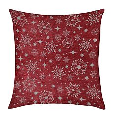 St. Nicholas Square® Snowflake Throw Pillow
