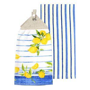 Food Network? Lemons Tie-Top Kitchen Towel 2-pack