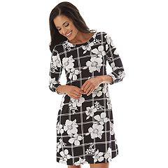 223e4cbd636 Women s Apt. 9® Printed Swing Dress