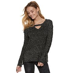 Women's Rock & Republic® Cutout Sweater