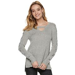 3936444ea9c Women s Rock   Republic® Cutout Sweater