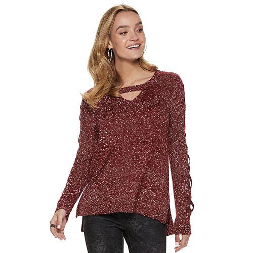 Women's Rock & Republic® Cutout Sweater