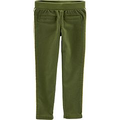 Toddler Girl Carter's Solid Twill Pants