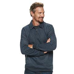 Men's Croft & Barrow® Classic-Fit Quarter-Zip Fleece Polo