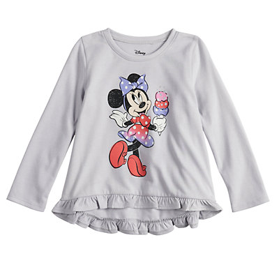 Disney's Minnie Mouse Baby Girl Ice Cream Graphic Tee by Jumping Beans®