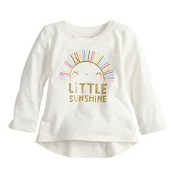 Baby Girl Jumping Beans® Long-Sleeve Graphic Tee