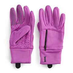 Girls 7-16 Igloos Stretch Fleece Gloves