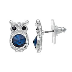 LC Lauren Conrad Owl Stud Earrings