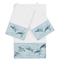 Linum Home Textiles Turkish Cotton Mia 3-piece Embellished Towel Set