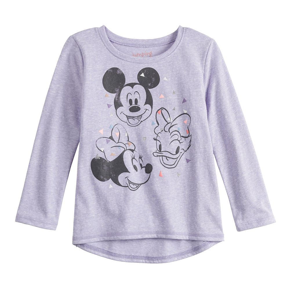 Disney's Mickey Mouse, Minnie Mouse & Daisy Duck Baby Girl Long-Sleeve Graphic Tee by Jumping Beans®