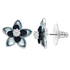 LC Lauren Conrad Flower Stud Earrings