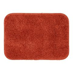Orange Bath Rugs Mats Bathroom Bed