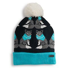 Girls 4-6x Igloos Critter Beanie Hat