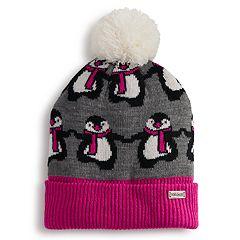 Girls 4-6x Igloos Critter Beanie Hat