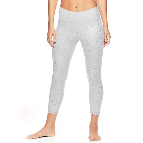 Women's Gaiam Yoga Midrise Capri Leggings