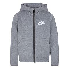 Boys 4-7 Nike Club Fleece Zip Hoodie