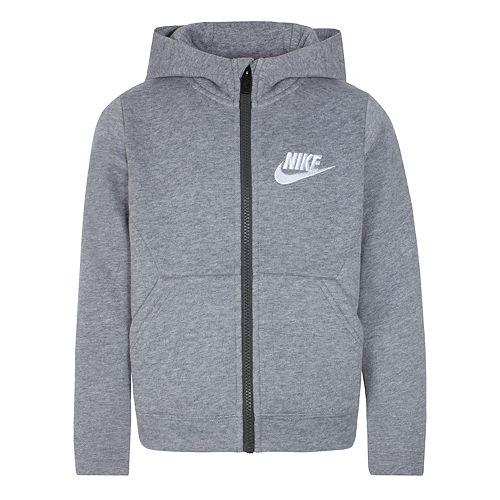 Boys 4-7 Nike Club Fleece Zip Hoodie