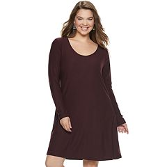 Juniors' Plus Size Mudd® Strappy Back Dress