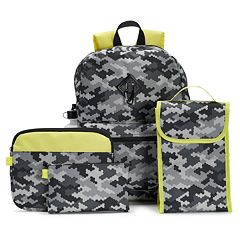 Kids Backpack, Lunch Bag, Tablet Case, Pencil Case & Water Bottle Set