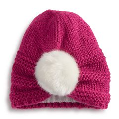 Girls 4-6x Igloos Pom Beanie Hat