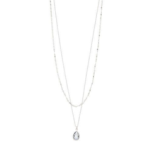 LC Lauren Conrad Double Strand Pendant Necklace