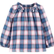 Baby Girl Carter's Cinched Lurex Top