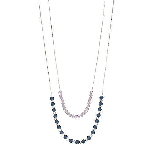 LC Lauren Conrad Multi Strand Bead Necklace