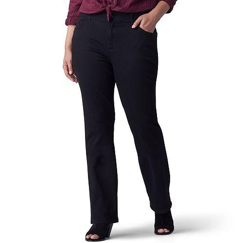 60a44b55 Plus Size Lee Flex Motion Regular Fit Bootcut Jeans