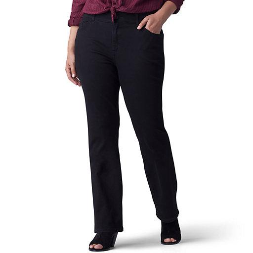 237a2f4b Plus Size Lee Flex Motion Regular Fit Bootcut Jeans