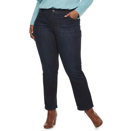 Plus Size Lee Flex Motion Regular Fit Bootcut Jeans