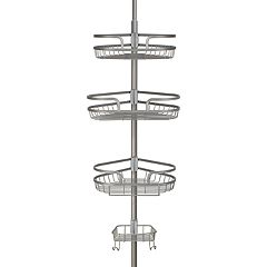 Richards E-Satin Nickel Steel Tension Pole Caddy