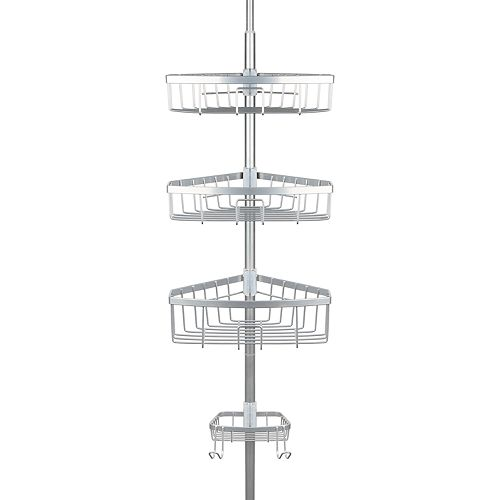 Richards E-Chrome Steel Tension Pole Caddy