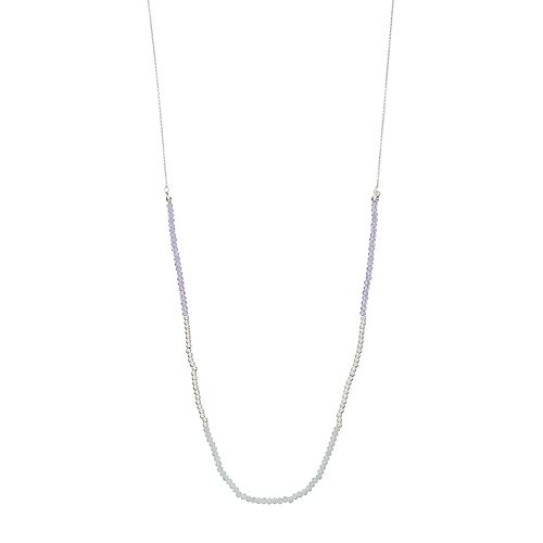 LC Lauren Conrad Long Beaded Necklace